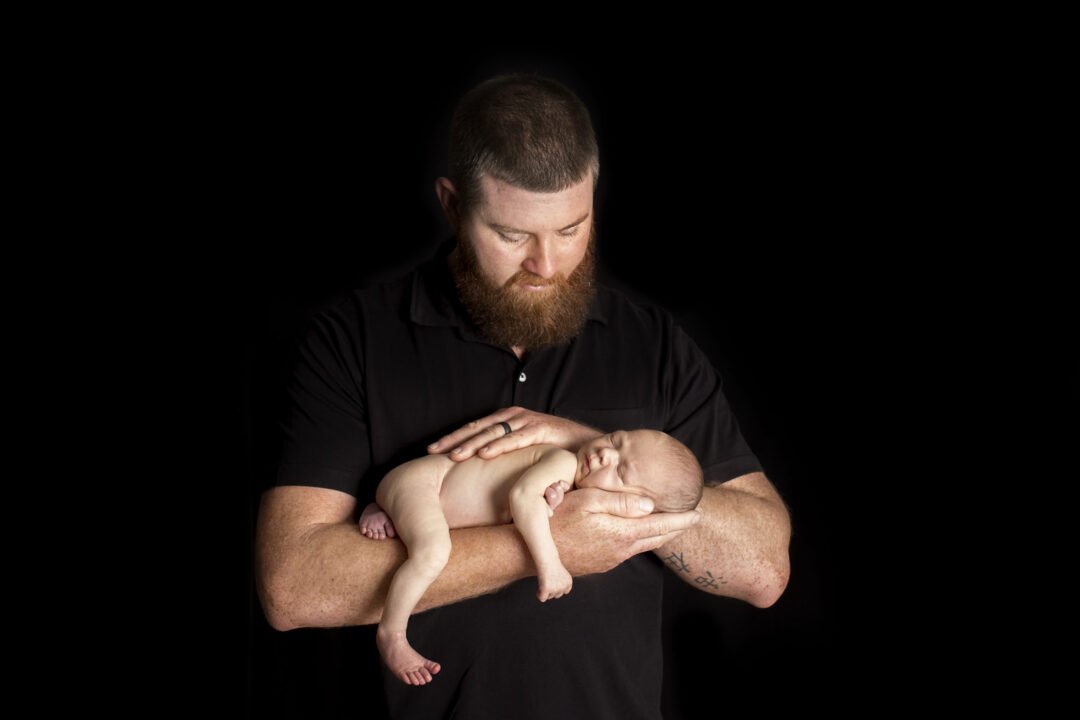 Newborn photo session orlando